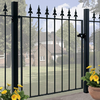 Saxon Wrought Iron Style Metal Garden Gate