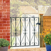 Regent Wrought Iron Style Metal Garden Gate
